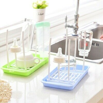Baby Feeding Bottle Holder Drying Rack Infant Cleaning Dryer Pacifier Storage AU
