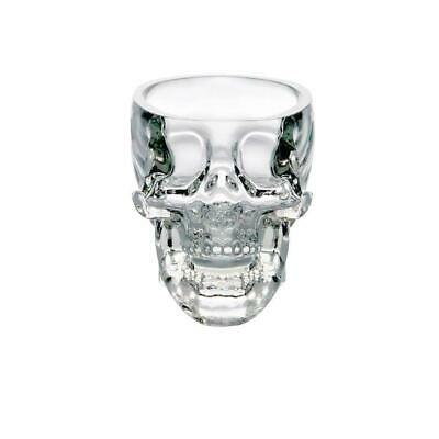 Hot Crystal Skull Head Vodka Whiskey Shot Glass Cup Home Drinking Ware Bar M4A8