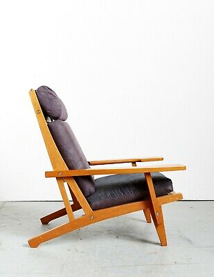 Hans J.Wegner Highback Chair GE-375 for Getama, 1969