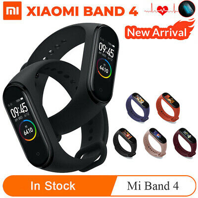 Xiaomi Mi Band 4 Smart Bracelet Heart Rate Fitness Sport Tracker AMOLED Screen &
