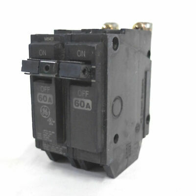 NEW GENERAL ELECTRIC THQB2160 CIRCUIT BREAKER  60 AMP 2P 120//240VAC GE THQB2160