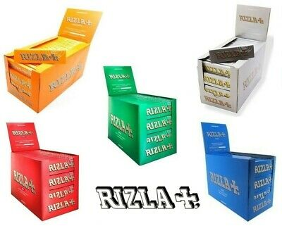 Rizla Papers Regular, Cigarette, Green, Silver, Liquorice, Red & Blue