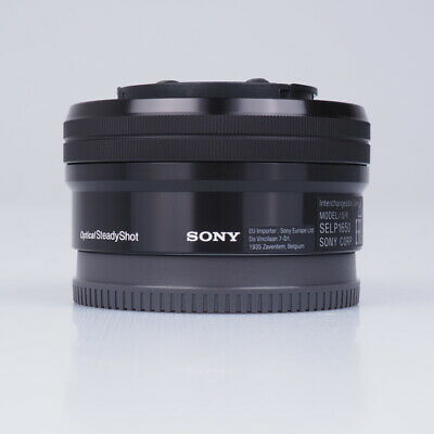 Sony SEL-P1650 E 16-50mm F3.5-5.6 PZ OSS Lenses - Black
