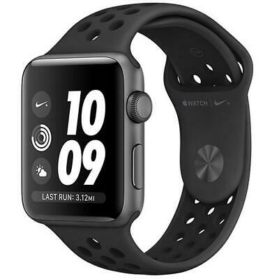 Apple Watch Series 3 Nike+ GPS MTF12 (MQKY2) - 38mm Space Grey with Black Band