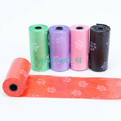 10Roll Degradable Pet Waste Poop Bags Dog Cat Clean Up Refill Garbage bag