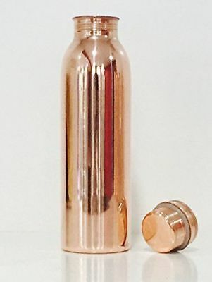 Pure Copper Water Bottle ( 100 % copper) FOR TRAVELLING HEALTH BENEFITS WEIGHT