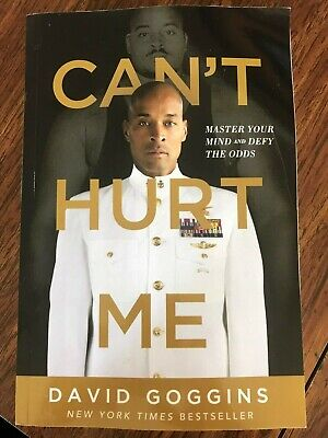 David Goggins Author Cant Hurt Me - Master Your Mind & Defy the Odds Paperback