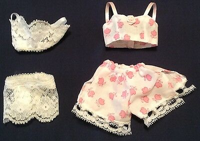 Fashion Doll Bra Panties Lingerie Dollhouse Barbie Clothes Set Pajamas Toys 11.5