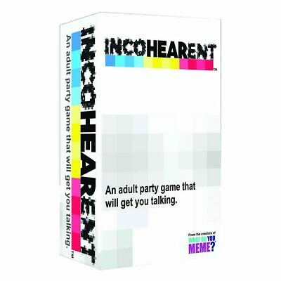 Incohearent Card Game NEW
