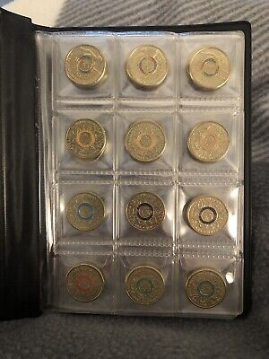 2016 $2 Two Dollar AUSTRALIAN OLYMPIC TEAM Coins And Case