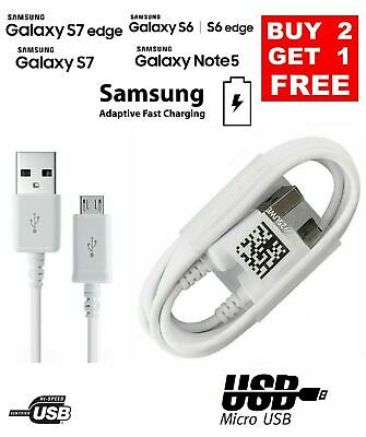Samsung Micro USB Fast Charger Data Sync Cable For Galaxy A3 A5 J3 S3 S6 S7 Edge