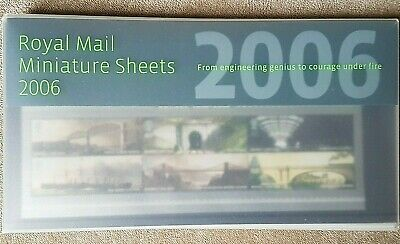 GB 2006 Royal Mail Complete Year Miniature Sheet MNH Presentation Pack  7 Sheets