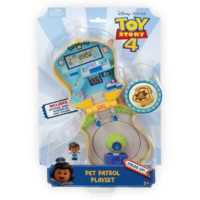 Disney Pixar Toy Story 4: Giggle McDimples Pet Patrol Playset Disney In Hand