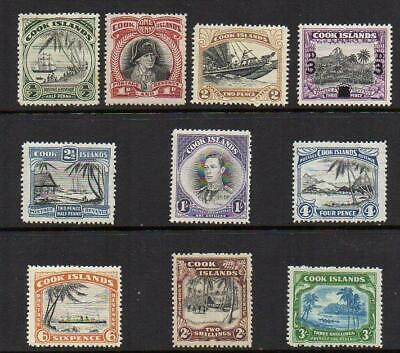 COOK ISLANDS 1944-46  SET  M.Mint with gum  Excellent Looking No Hidden Faults