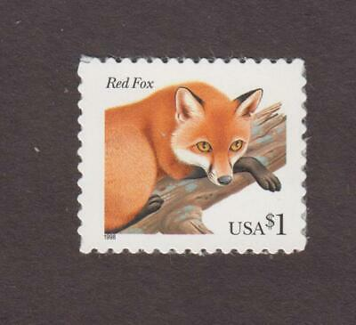 Us,3036,Mnh,Red Fox,Scarce Collection,Mint Nh Og,Vf