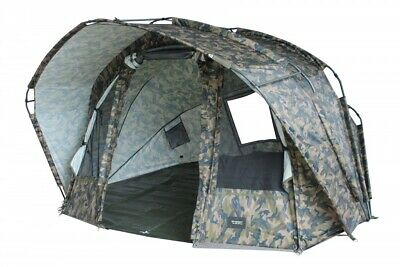 MK Fort Knox Ghost 2.0 Pro Dome 2 Man Bivvy Karpfenzelt Angelzelt