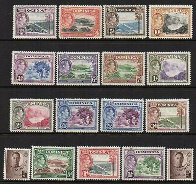 1938-47  Set of 15+2  Mounted Mint with Gum Excellent Looking No Hidden Faults