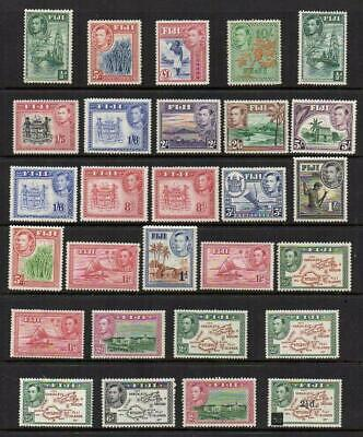 FIJI 1938-55 Group of 28  M.Mint with Gum Excellent Looking  No Hidden Faults