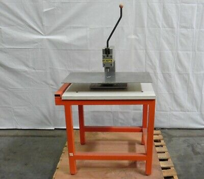 G160759 Exacta Hand Operated Toggle Press w/ Workbench
