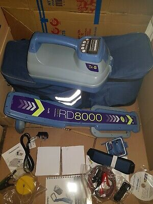 Radiodetection RD8000 PXLM with TX-5 Genny. New.