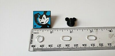 Disney Trading Pin Hidden Mickey Oswald Lucky Rabbit Confused Blue