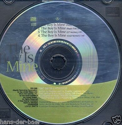 Brandy & Monica - The Boy Is Mine ♫ Maxi-Single-CD von 1998 ♫ ohne Cover