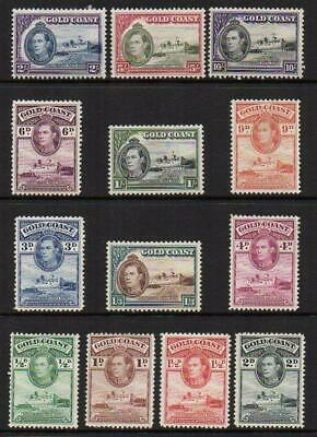 GOLD COAST 1938-43 Set of 13 M.Mint with Gum Excellent Looking  No Hidden Faults