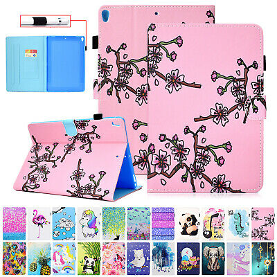 For iPad Mini 1 2 3 4 Case Smart Leather Magnetic Card Pocket Flip Stand Cover