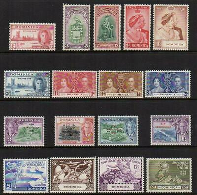 DOMINICA 1937-49 6 SETS  M.Mint with gum  Excellent Looking No Hidden Faults