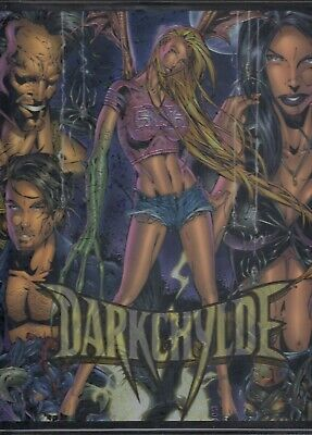 Darkchylde Chromium 1998 Krome Factory Binder & Base Card Set In Pages Mc