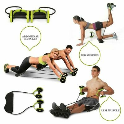 Power Roll Abs Trainer Abdominal and Full Body Workout Gym Fitness Equipments