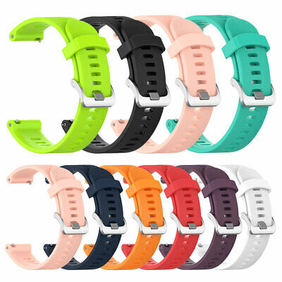FT- 20mm Stylish Smart Watch Band Strap Replacement for Garmin Forerunner 245M/2