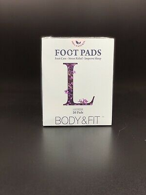 Body & Fit, Lavender Scent Detox Foot Pads, 20 (ct) FREE Shipping!