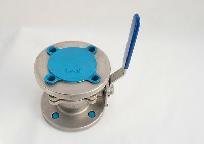 """SAFI DN32 PN10 GRPP 1 1//4/"""" BALL VALVE FLANGED lever 32mm C3"""