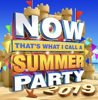 Now Thats What I Call a Summer Party 2019 BRAND NEW 2CD