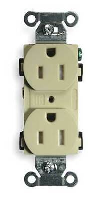 HUBBELL WIRING DEVICE-KELLEMS CR15ITR 15A Duplex Receptacle 125VAC 5-15R IV