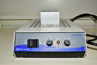 Fisher Scientific ISOTEMP Cat # 11-718-6 Drybath Incubator 5 Sample Block