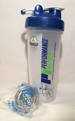 2x Blender Bottle Performance Inspired Shaker & Wire Whisk Loop-Lid 28oz Classic