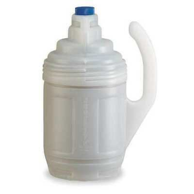 JUSTRITE 12009 Bottle Jacket,1 Gal.,Clear,Polyethylene