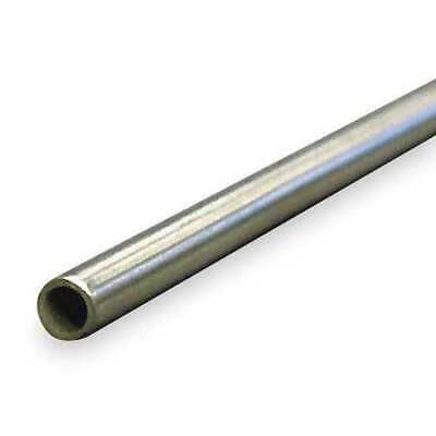 """ZORO SELECT 3ADE9 3/8"""" OD x 6 ft. Welded 304 Stainless Steel Tubing"""