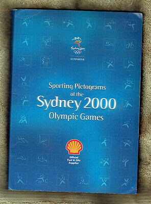 #Ss. Set 28 Shell Sydney 2000 Olympic  Sporting Pictogram Medals, Folde Wear