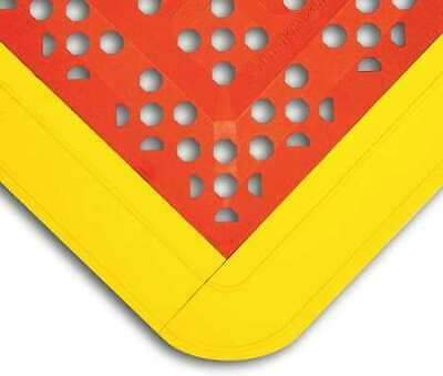 "WEARWELL 546 Interlock Drainage Mat,Red,2ft.3""x3ft.6"""