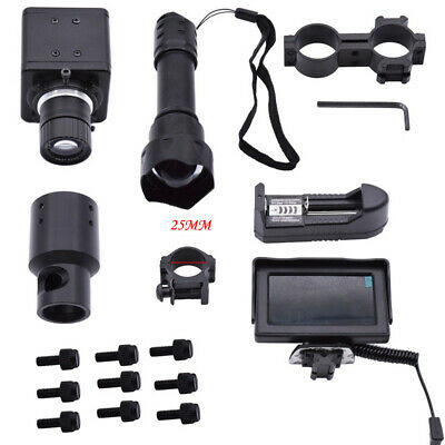 DIY NIGHT VISION Scope Rifle Scope Add On Device with Display Screen