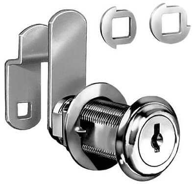 COMPX NATIONAL C8060-KD-14A Standard Keyed Cam Lock, Key Different