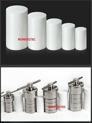 Hydrothermal Autoclave Reactor 200ml with Teflon Chamber 240℃ 6Mpa   na