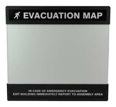 ACCUFORM DTA241 Evacuation Map Holder,11 in. x 17 in.