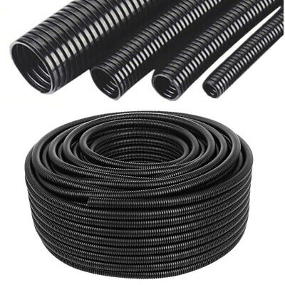 1 5 INCH (38MM) BLACK CORRUGATED FLEXIBLE HOSE FISH POND