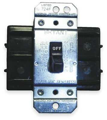 HUBBELL WIRING DEVICE-KELLEMS HBL7862D Manual Motor Switch,60A,600VAC,2P