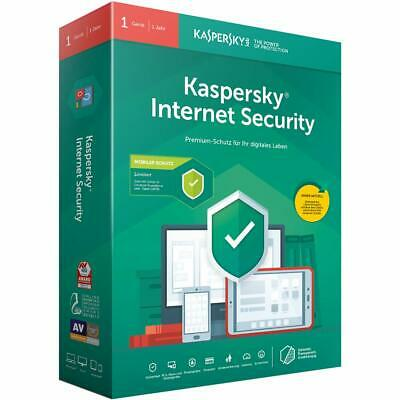 Kaspersky Lab Internet Security 2019, 1 PC für 1 Jahr Win/Mac/Android, Antivirus