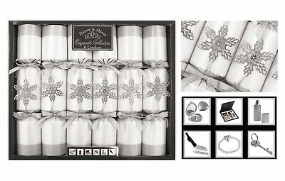 Christmas Crackers Xmas Crackers Exquisite Collection Box of 6 Premium 13.5'